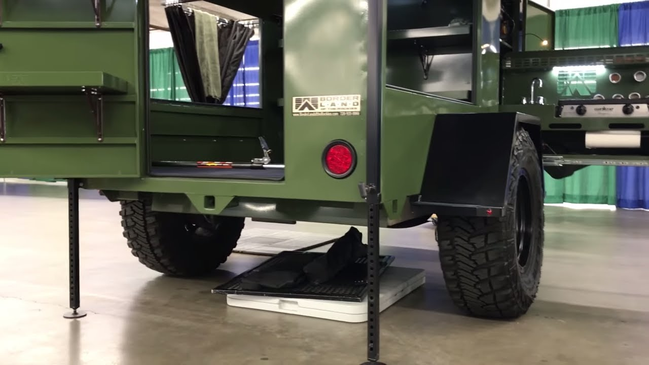 All Purpose 4x4 Camping Trailer By BorderLand Of The Rockies