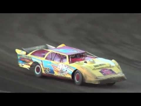 IMCA Late Model Heats Independence Motor Speedway 8/20/16