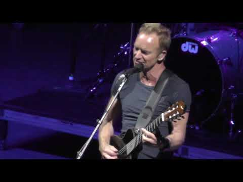 Sting 8/30/17: 21 - Fragile (For Texas) - Saratoga Springs,NY