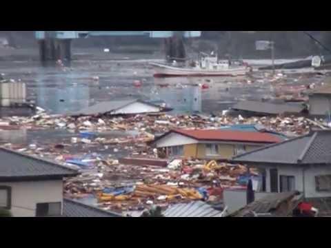 2011 Japan Tsunami: Ryori [stabilized with Deshaker]