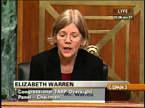 "Elizabeth Warren Explains What ""Too Big To Fail"" Means In A Statement On The Bailout Of Citigroup"
