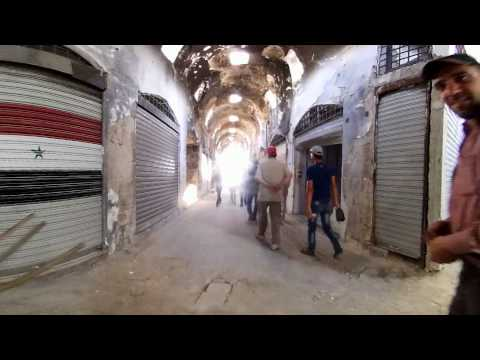 A VR experience: Restoration of old market in Homs