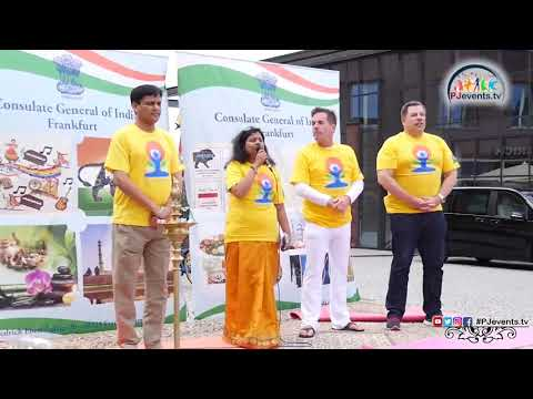 International Yoga Day 2018 Frankfurt - Full event