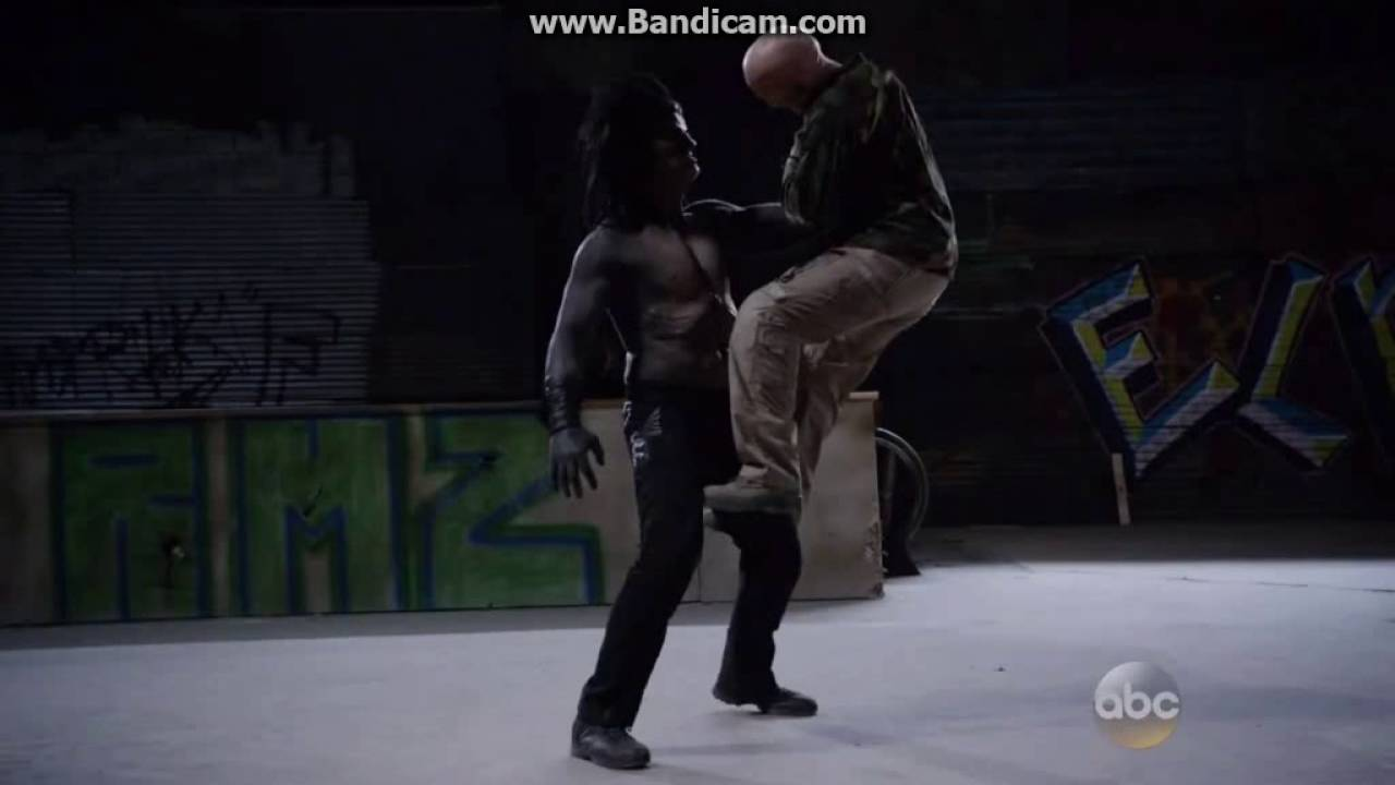Marvel Agents Of S.H.I.E.L.D - Lash vs Hive Scene - YouTube