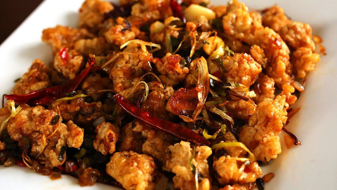 Spicy garlic fried chicken kkanpunggi youtube youtube premium forumfinder Choice Image