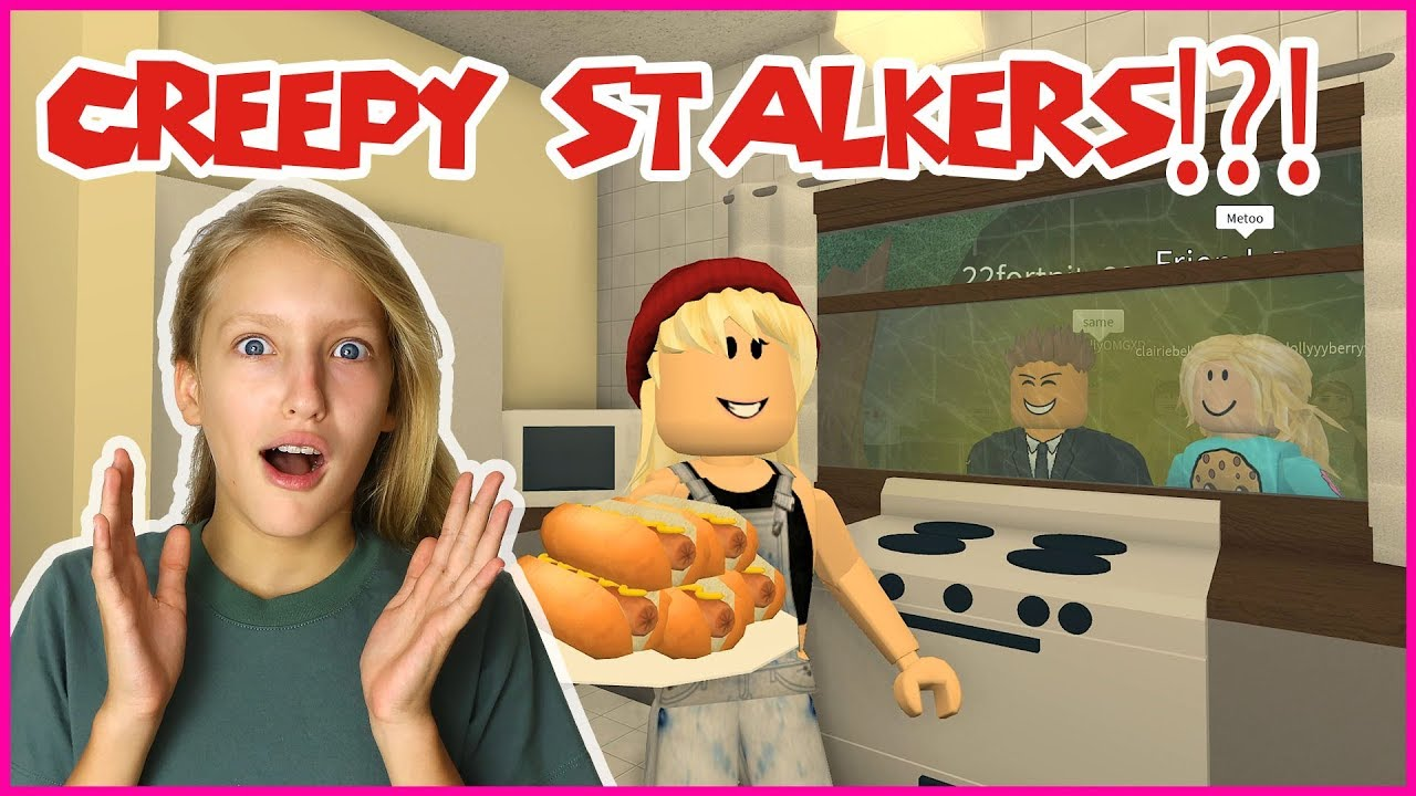 Karinaomg Roblox Bloxburg 3am Creepy Stalkers Watch Me Eat At 3am Youtube