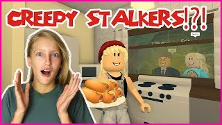 Creepy Stalkers Watch ME Eat at 3am!