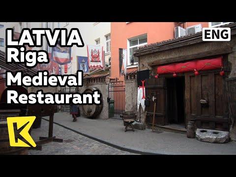 【K】Latvia Travel-Riga[라트비아 여행-리가]13세기 중세 식당/Medieval Restaurant/Rozengrals/Rabbit/Food