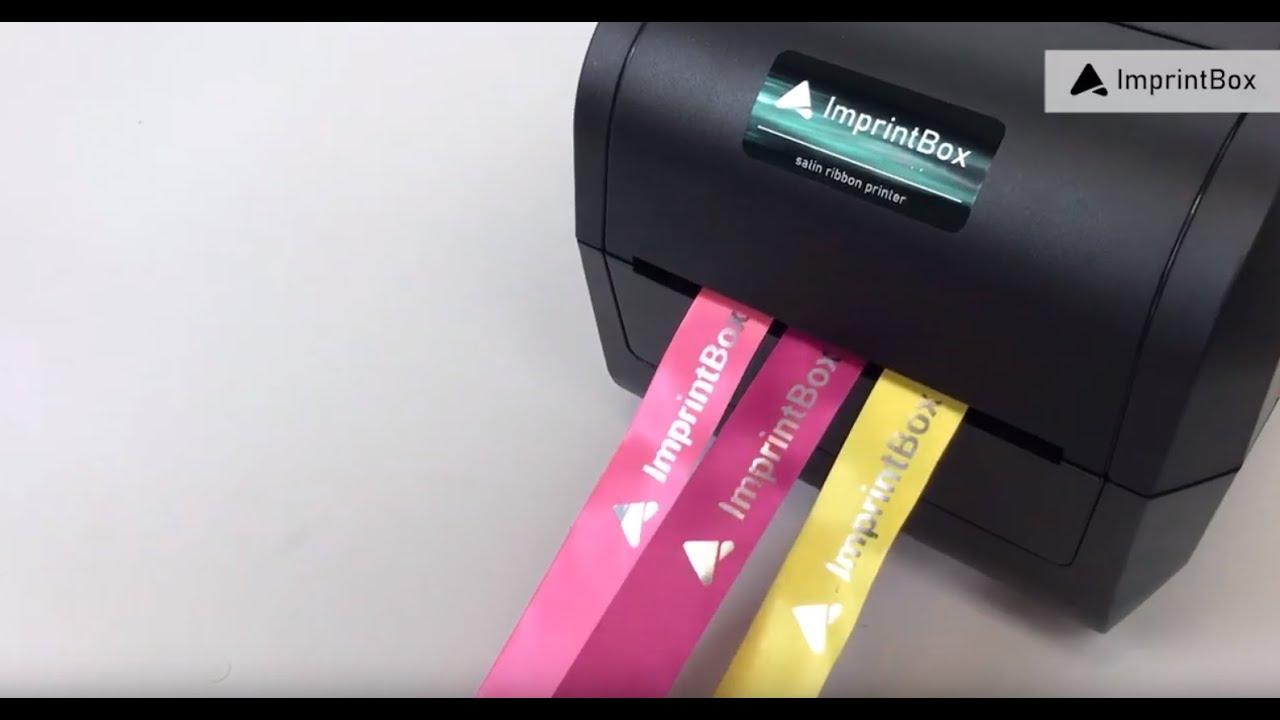 Nové promo video tiskáren pro potisk stuh ImprintBox.