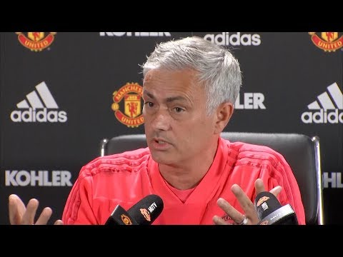 Jose Mourinho declares himself as 'one of the greatest managers in the world' in press conference