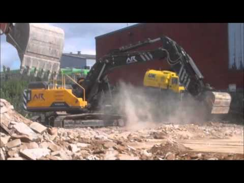 Demolition spec upgrade Fabrication by Design