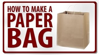 Download How to Make a Paper Bag - Video by Rohit Mp3 and Videos