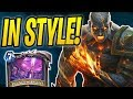 Gotta WIN IN STYLE! | Storm Bringer Shaman | The Boomsday Project | Hearthstone