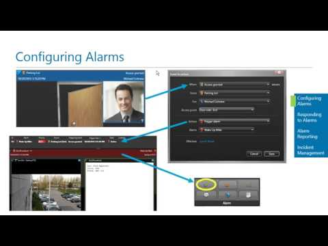Genetec - Creating and Managing Security Center Alarms and Incidents