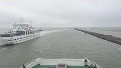 Fähre von Norddeich Mole nach Norderney