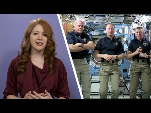 Talking to astronauts live from space