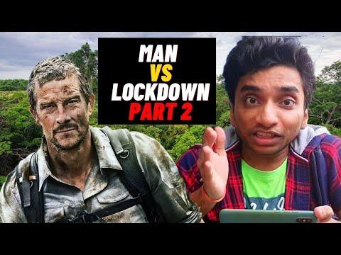 Bear Grylls as Thief ( Chor ) - Man Vs Lockdown Part 2 - By