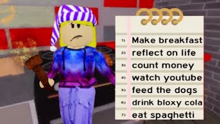 Morning went wrong 😫 - ROBLOX