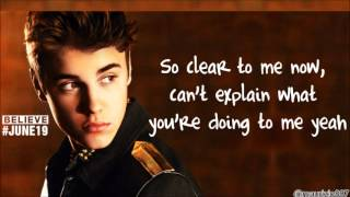 justin bieber thought of you lyrics