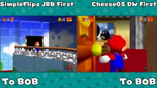 Theorizing And Timing A New 120 Star Speedrun Route