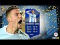 FIFA18 | BEST PLAYER ON FIFA?!?! | SERIE A TOTS 95 RATED MILINKOVIC SAVIC PLAYER REVIEW!! | FUT18