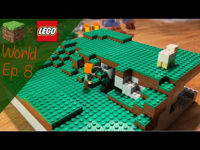 LEGO® X Minecraft World #8 - Wasser, Gras, Schaf und mehr