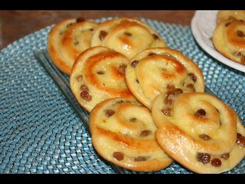 brioches-à-la-crème-pâtissière-&-raisins-secs---brioche-raisin-snails---بريوش-بالكريمة-و-الزبيب