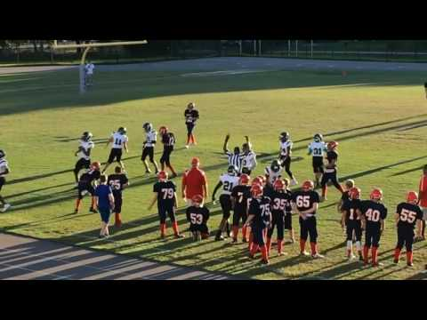 Bayonet Point Middle Patriots vs Gulf Middle Buccaneers - Football 09/20/16