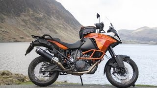 KTM 1190 Adventure Exhaust LOUD! - Diablo Black Stainless Oval Mini Fuel Exhaust