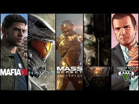 видео: Обзор новинок игр fallout 4, gta 5, mass effect 4, halo 5, mafia 3