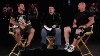 Tension boils over when CM Punk and Stone Cold Steve Austin talk WWE