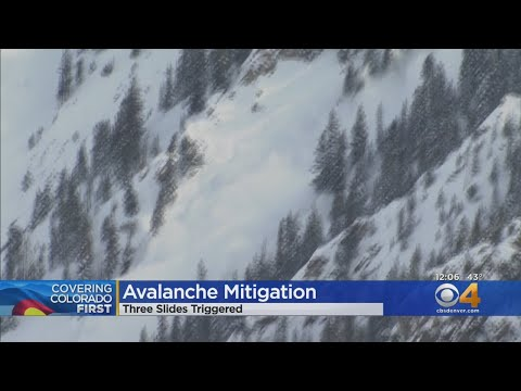 Avalanche Mitigation Continues In Colorado's High Country