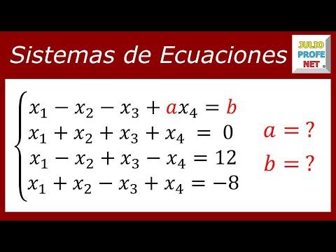 MÉTODO DE GAUSS PARA ANALIZAR UN SISTEMA DE ECUACIONES 4×4