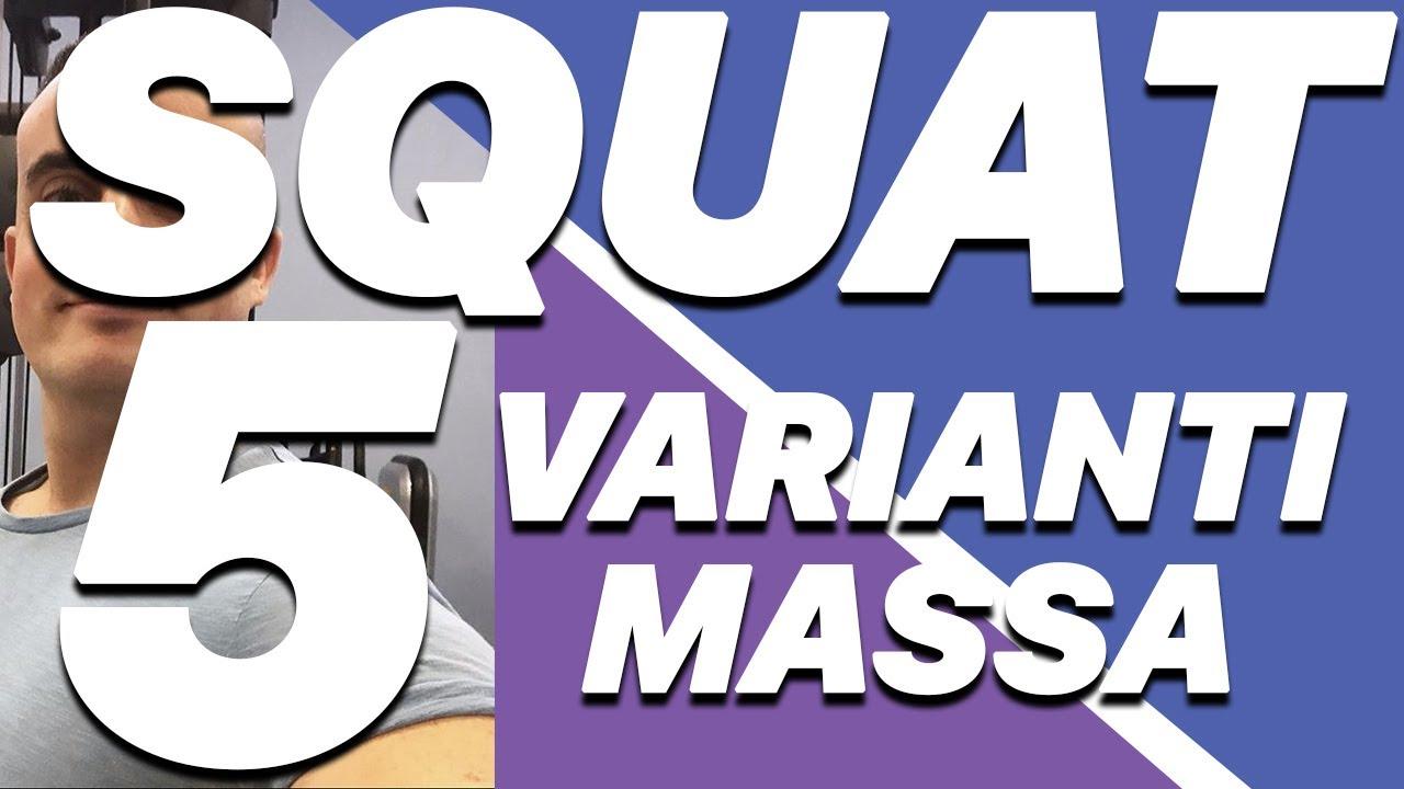 Squat: 5 Varianti per la Massa Muscolare Che Non Fai Mai