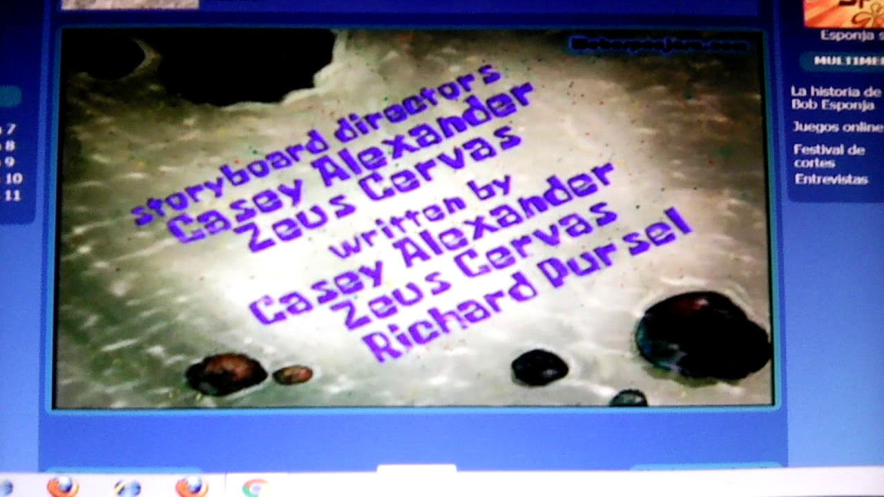 Spongebob Squarepants Spongicus Title Card Youtube