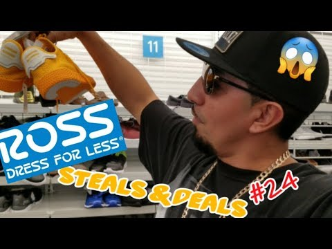 HUNTING FOR STEALS & DEALS IN ROSS #24. RSX PUMA, COLLAB SHOE FOUND, & PHARRELL ADIDAS,