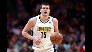 NBA on TNT Crew comparing Nikola Jokić to Rik Smits!