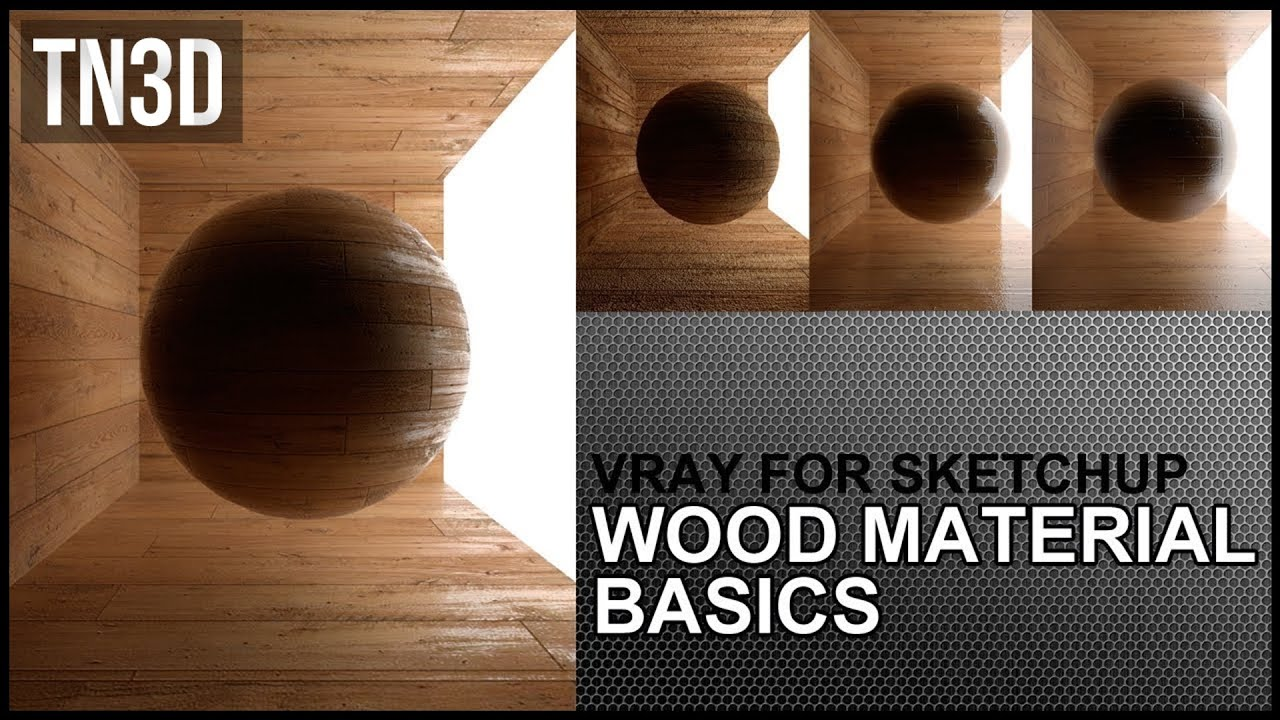 How to Create Wood Floor Material in Vray for sketchup 2.0