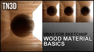 How to Create Wood Floor Material in Vray for sketchup 2.0 - Tutorial