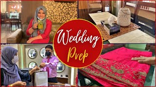 Wedding Preparations | Dress & Gold shopping | Organising Couple Room & other