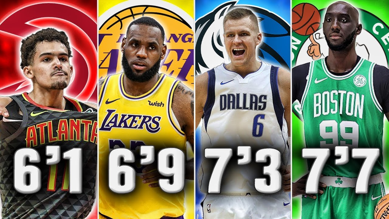 Best Nba Player At Each Height In 2020 Youtube