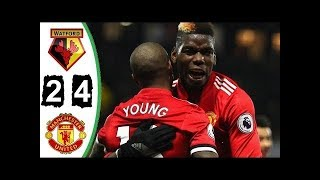 Watford 2 x 4 Manchester United   Melhores Momentos   C  Inglês 28 11 2017 HD