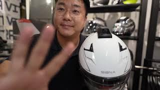 액션캠 까지 되는 블루투스 헬멧? 세나 프로라이드 에보…