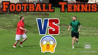 The Football Tennis Challenge | Tense Football Challenge