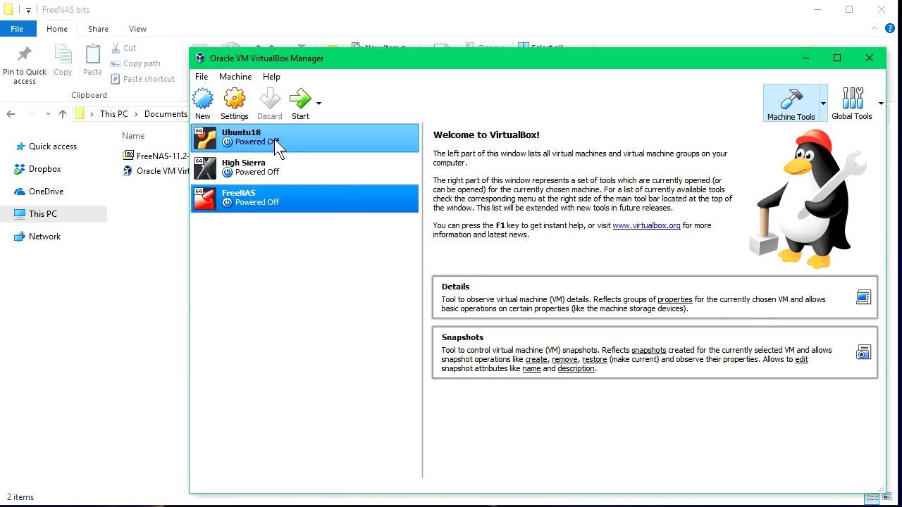 Hướng Dẫn Cách Cài Đặt FreeNAS Trên Virtual Box - AN PHÁT