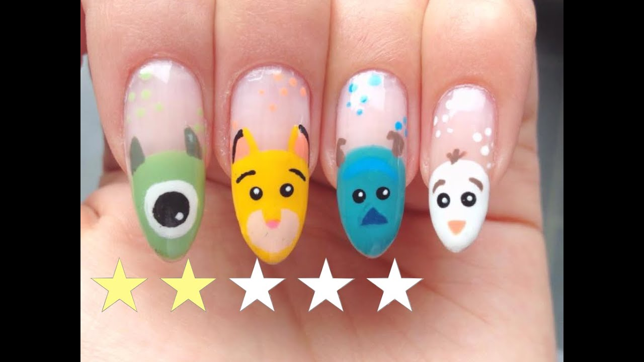 Favorit Nail Art Facile : Disney♡ - YouTube WS54