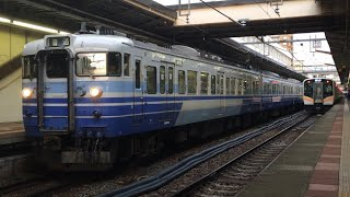 JR東日本 115系 新新潟色 N17編成+N18編成 越後線 信越本線 新潟駅発車