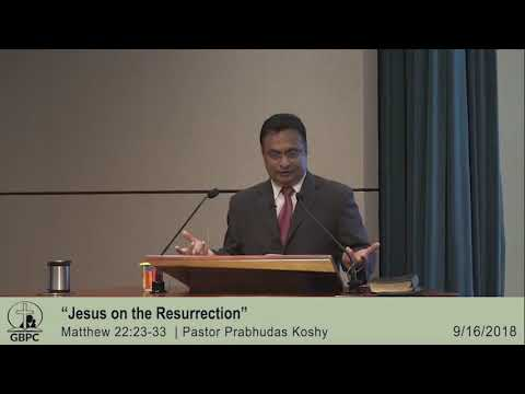 Jesus on the Resurrection