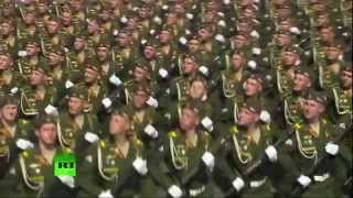 Russian Army Parade Victory Day 2015(Red Alert 3 Theme Soviet March)