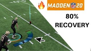 How to Recover ONSIDE KICKS in Madden 20 EVERY TIME!